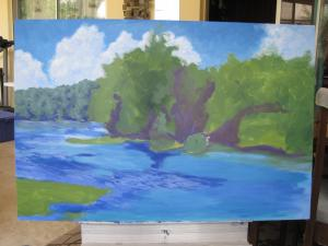 Work in Progress, Rainbow River, second day